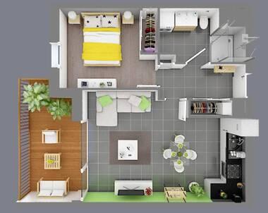 Vente Appartement 2 pièces 45m² Boëge (74420) - photo