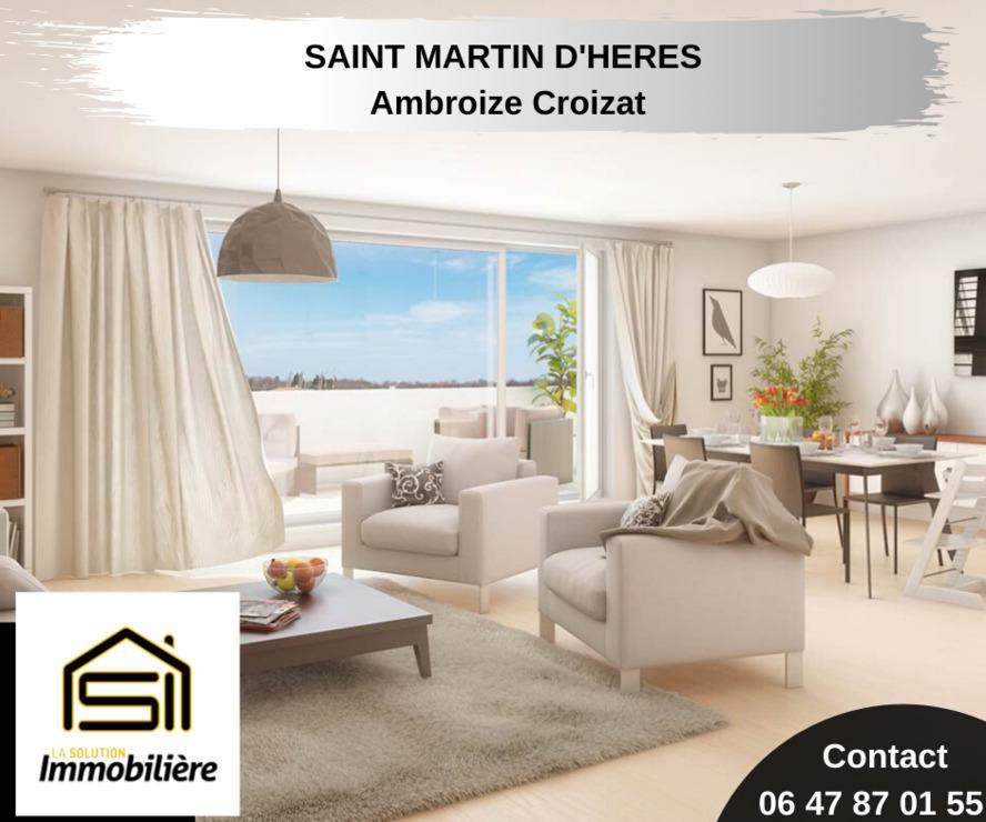 Sale Apartment 5 rooms 95m² Saint-Martin-d'Hères (38400) - photo