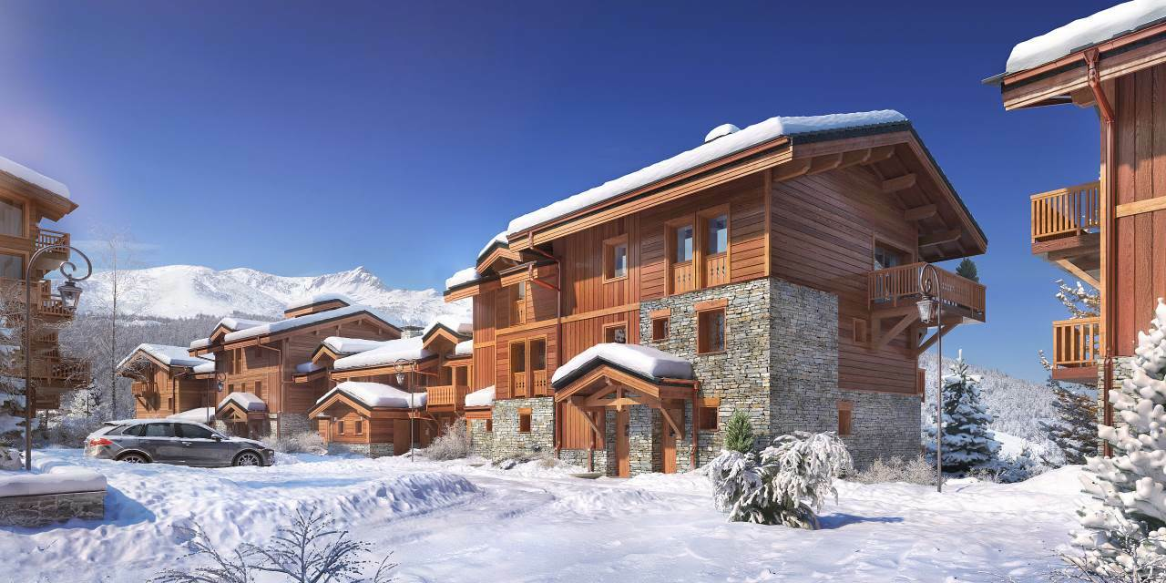 NEW CHALET COURCHEVEL MORIOND Chalet in Courchevel