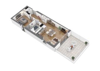 Vente Appartement 2 pièces 50m² Chamalières (63400) - Photo 1
