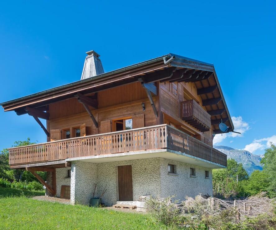 Annonces vente maison chalet combloux 74920 for Cherche maison