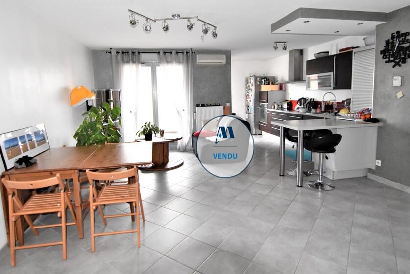Vente Appartement 3 pièces 69m² Saint-Martin-d'Hères (38400) - photo