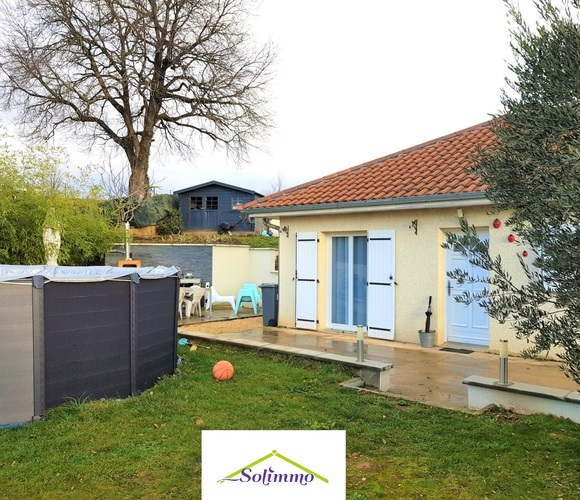 Vente Maison 5 pièces 120m² Morestel (38510) - photo