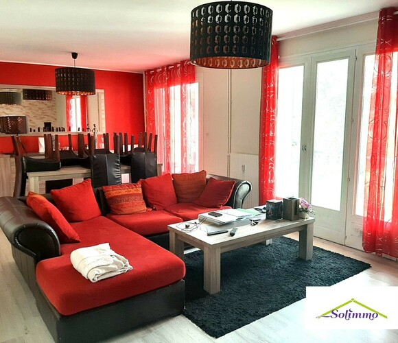 Vente Appartement 76m² Montalieu-Vercieu (38390) - photo