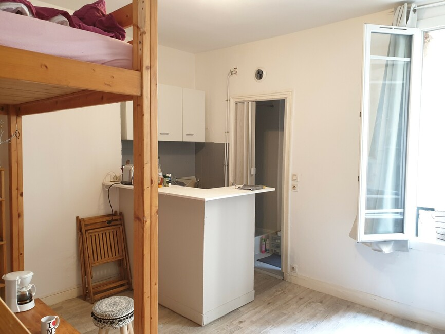 Vente Appartement 1 pièce 18m² Paris 10 (75010) - photo