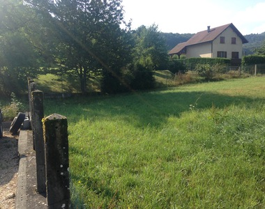 Sale Land 1 050m² Saint-Pierre-de-Curtille (73310) - photo