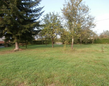Sale Land 1 218m² FOUGEROLLES - photo
