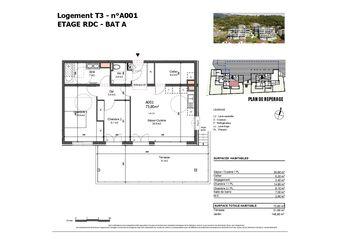 Vente Appartement 3 pièces 74m² Albertville (73200) - Photo 1