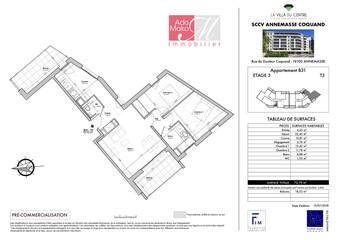 Vente Appartement 3 pièces 69m² Annemasse (74100)