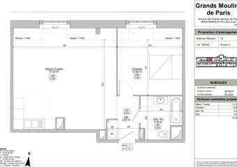 Vente Appartement 2 pièces 49m² Marquette-lez-Lille (59520) - photo