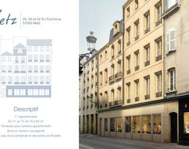 Vente Appartement 1 pièce 26m² Metz (57000) - photo
