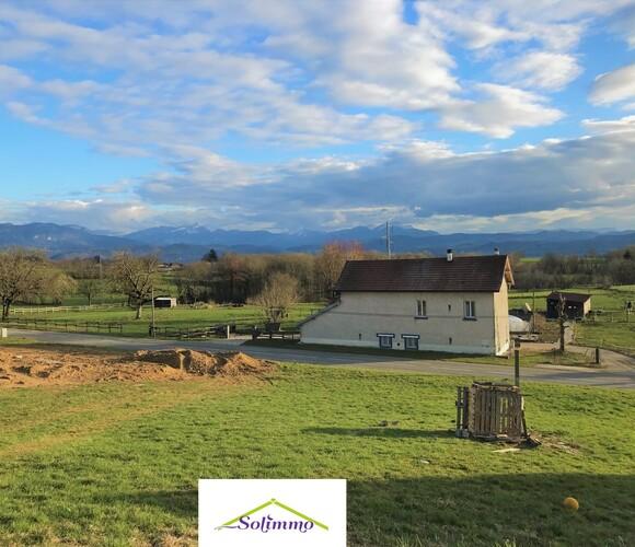 Vente Terrain 1 084m² Saint-Genix-sur-Guiers (73240) - photo