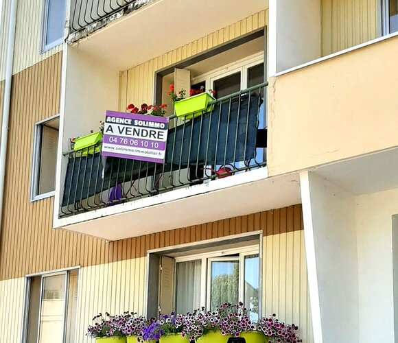 Vente Appartement 3 pièces 58m² Morestel (38510) - photo