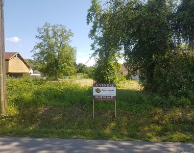 Vente Terrain 700m² Saint-Étienne-de-Saint-Geoirs (38590) - photo