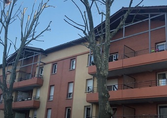 Sale Apartment 2 rooms 44m² Tournefeuille (31170) - photo