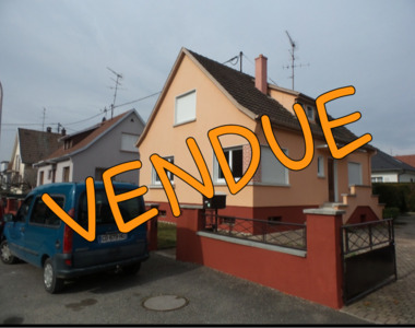 Vente Maison 5 pièces 100m² Rixheim (68170) - photo
