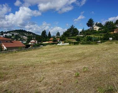 Vente Terrain 1 173m² La Tour-en-Jarez (42580) - photo