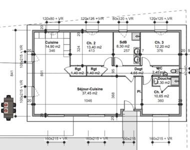 Vente Maison 4 pièces 109m² Tournus (71700) - photo