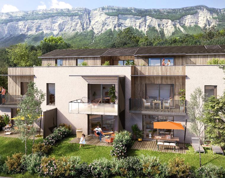 Vente Appartement 3 pièces 62m² Montbonnot-Saint-Martin (38330) - photo