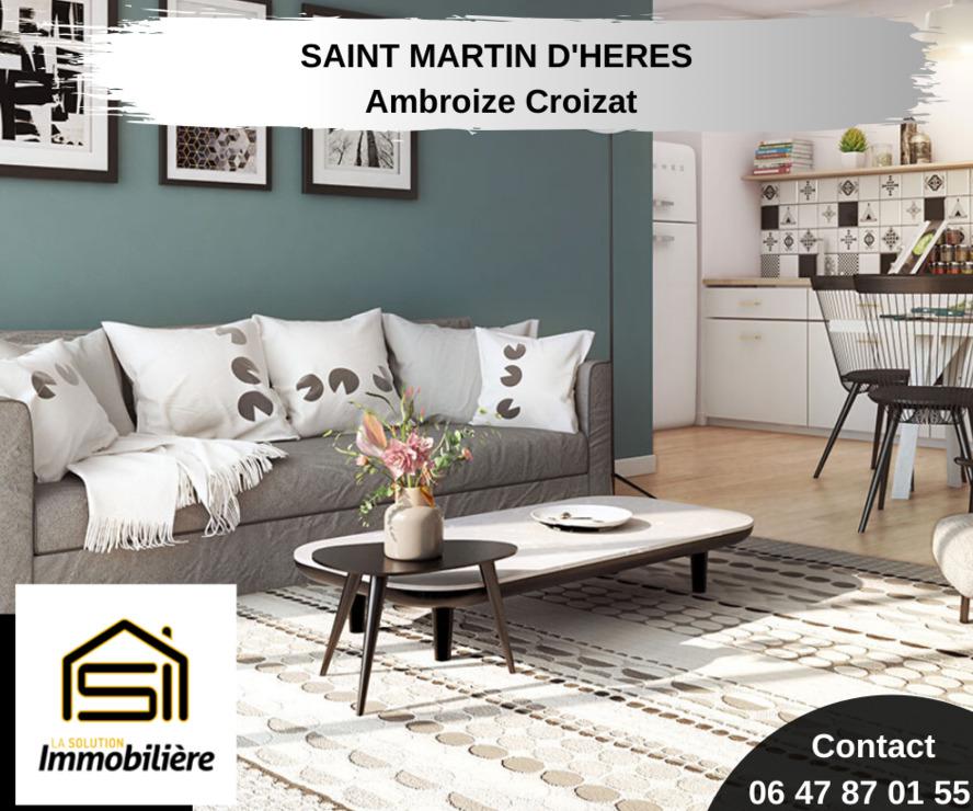 Sale Apartment 2 rooms 39m² Saint-Martin-d'Hères (38400) - photo
