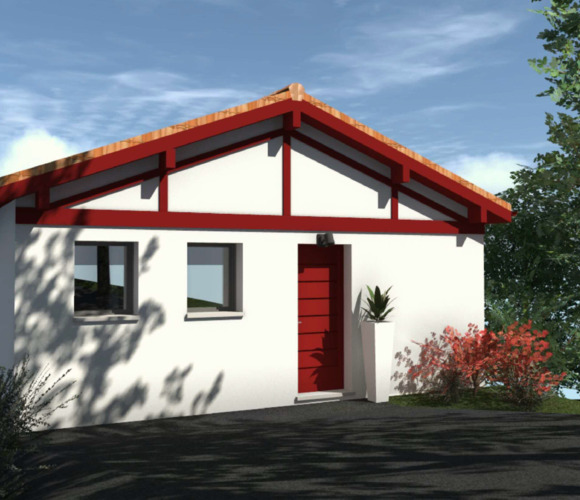 Vente Maison 4 pièces 102m² Hasparren (64240) - photo