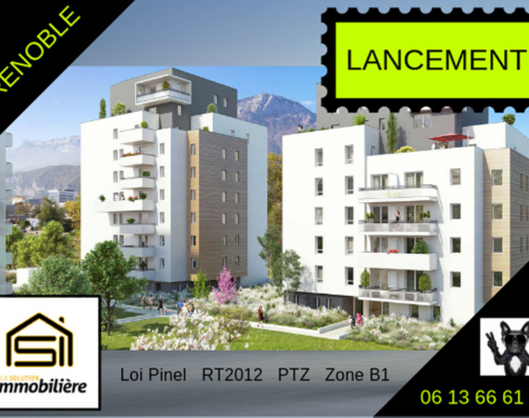 Sale Apartment 2 rooms 40m² Grenoble (38100) - photo