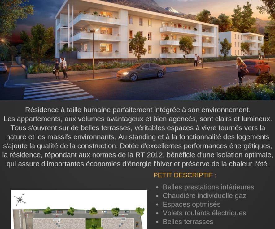 Vente Appartement 36m² Saint-Égrève (38120) - photo
