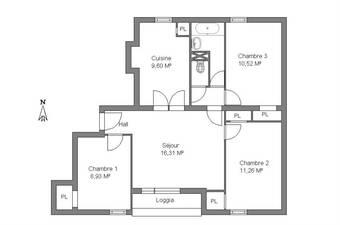 Vente Appartement 4 pièces 66m² Lyon 05 (69005) - Photo 1