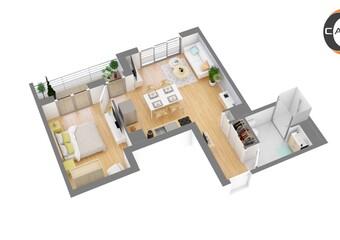 Vente Appartement 2 pièces 46m² Aulnay-sous-Bois (93600)