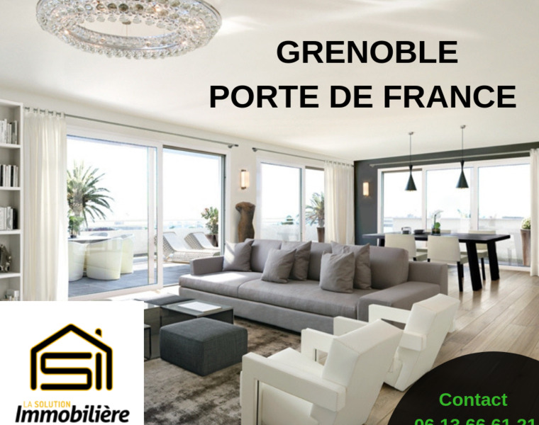 Vente Appartement 4 pièces 108m² Grenoble (38000) - photo