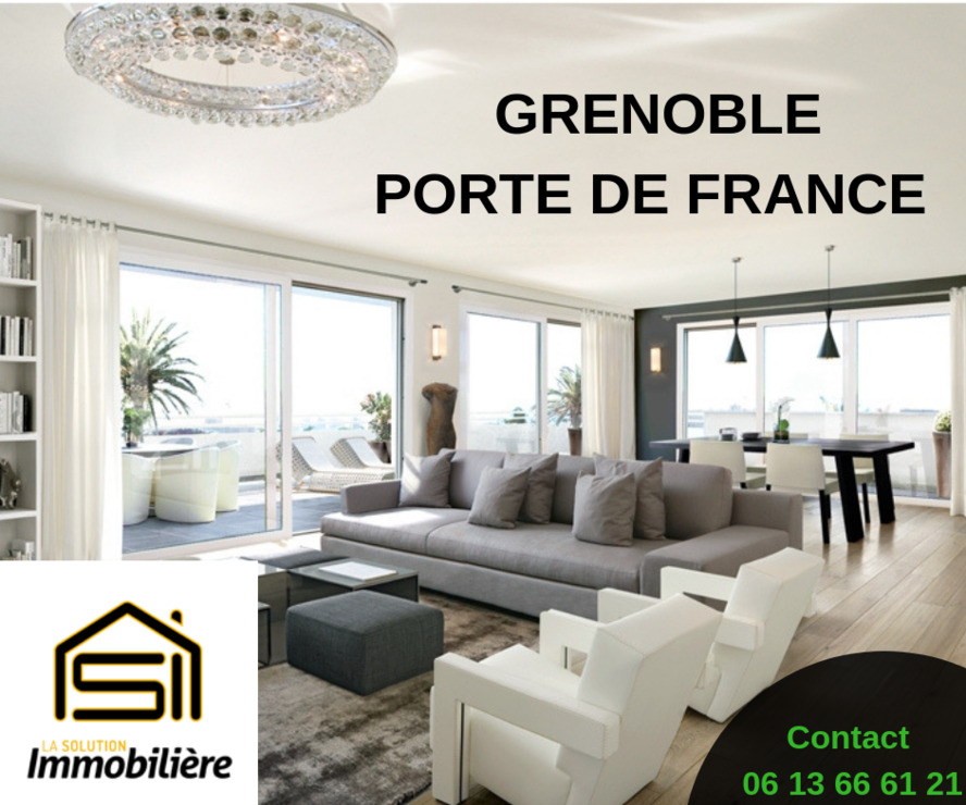Vente Appartement 5 pièces 105m² Grenoble (38000) - photo