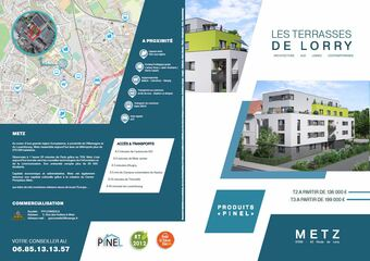 Vente Appartement 2 pièces 45m² Metz (57050)
