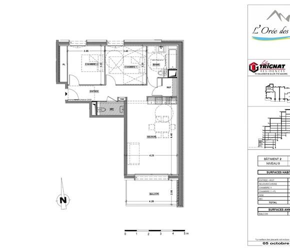 Vente Appartement 3 pièces 69m² Oz en Oisans (38114) - photo