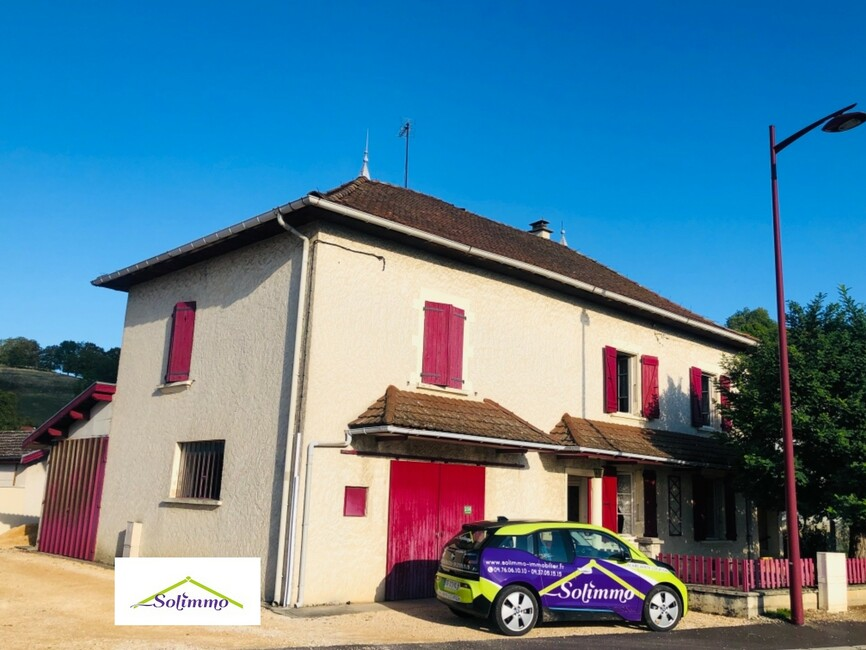 Vente Maison 4 pièces 117m² Saint-Victor-de-Cessieu (38110) - photo