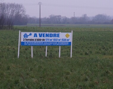 Vente Terrain 1 711m² Groffliers (62600) - photo