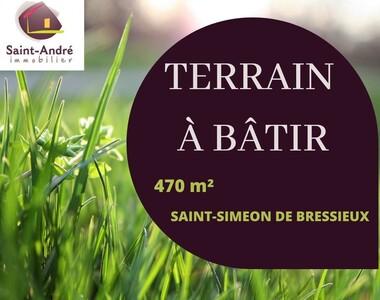 Vente Terrain 470m² Saint-Siméon-de-Bressieux (38870) - photo