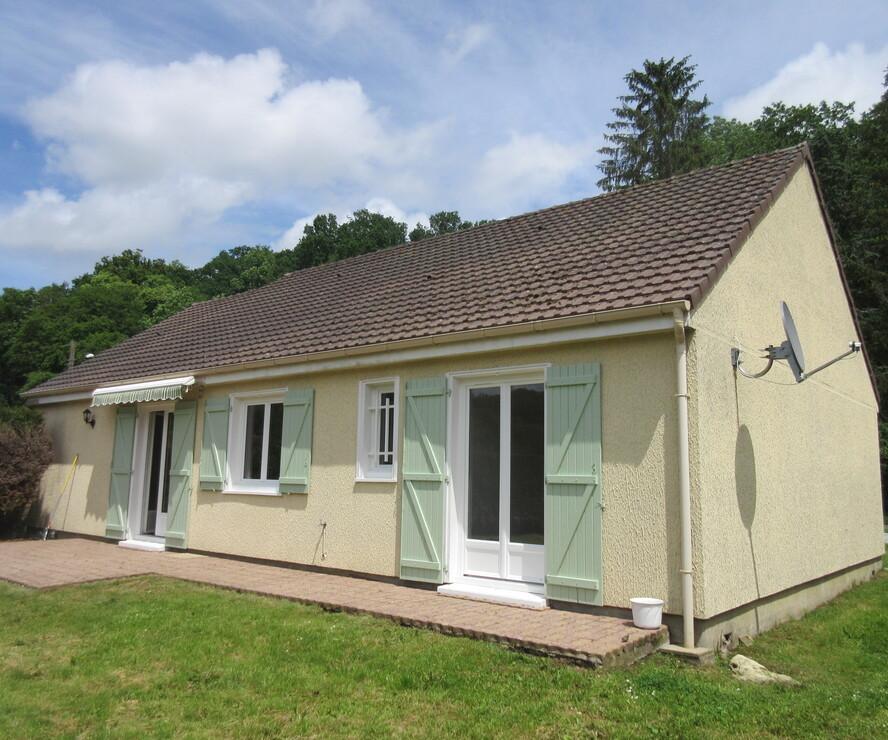 Location Maison 3 pièces 79m² Houlbec-Cocherel (27120) - photo