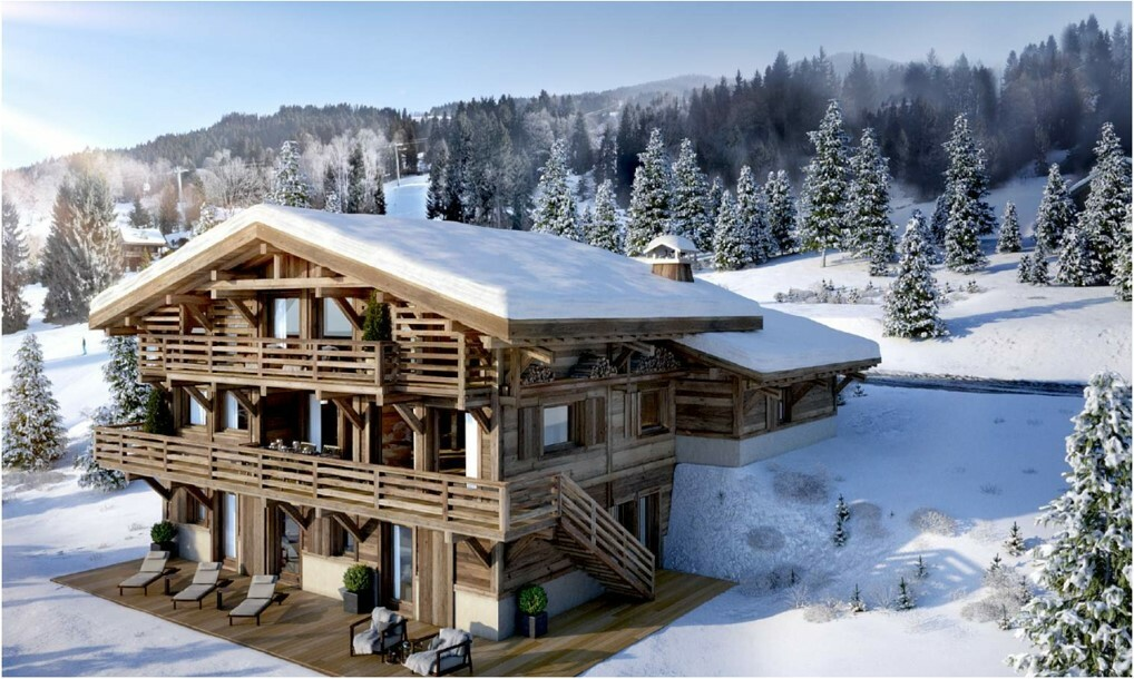 NEW PRESTIGIOUS CHALET IN MEGEVE Chalet in Megeve