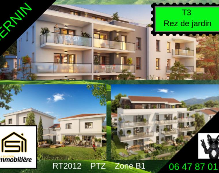 Sale Apartment 3 rooms 63m² Bernin (38190) - photo