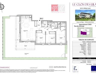 Vente Appartement 4 pièces 84m² Vétraz-Monthoux (74100) - photo
