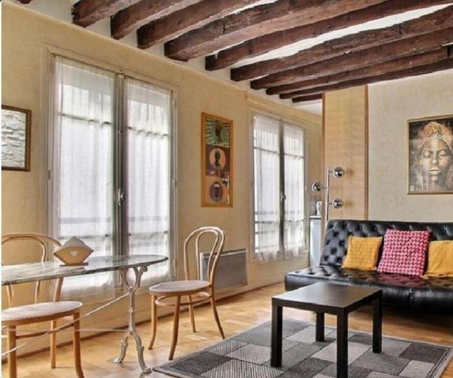 Vente Appartement 2 pièces 25m² Paris 06 (75006) - photo