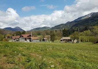 Vente Terrain 650m² Burdignin (74420) - photo