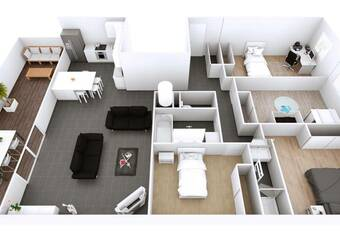 Location Appartement 5 pièces 106m² Le Pin (38730) - Photo 1