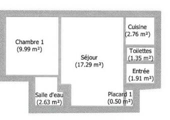 Vente Appartement 2 pièces 36m² Scionzier (74950) - Photo 1