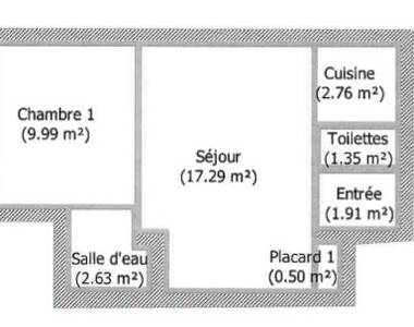 Vente Appartement 2 pièces 36m² Scionzier (74950) - photo
