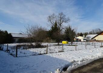 Vente Terrain 460m² Fillinges (74250) - photo