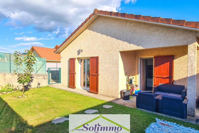 Vente Maison 4 pièces 85m² Aoste (38490) - photo
