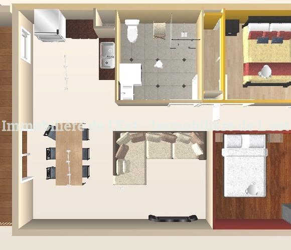 Vente Appartement 3 pièces 67m² La Chambre (73130) - photo