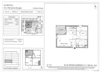 Renting Apartment 2 rooms 44m² Saint-Martin-d'Hères (38400) - Photo 1