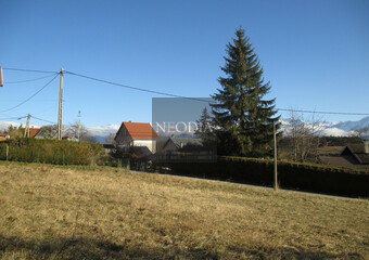 Vente Terrain 684m² Saint-Hilaire (38660) - Photo 1